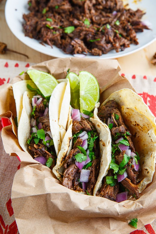 Barbacoa Taco Recipe Hispanic Food Network