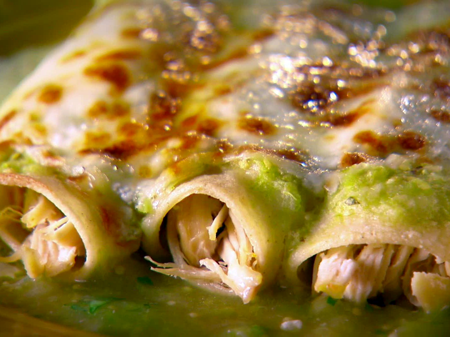 Chicken Enchiladas with Tomatillo Sauce GOYA Foods
