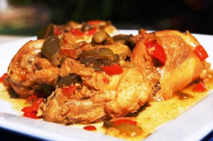 Cuban Chicken Fricassee