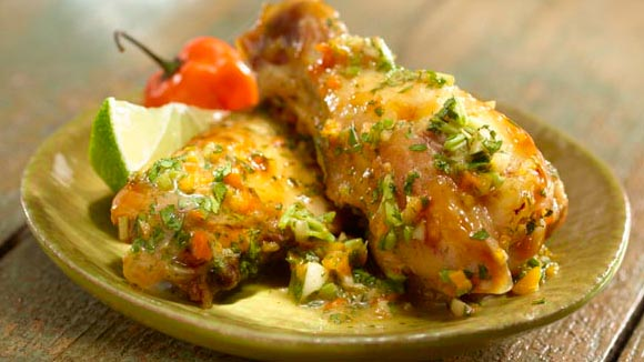 Spicy Cilantro Chicken Wings Recipe
