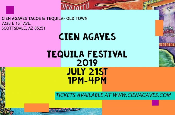 Cien Agaves 1st Annual Tequila Festival