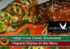 Indigo Crow Owner Showcases Hispanic Dishes on the Menu