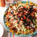 New Year Mexican Party Platter
