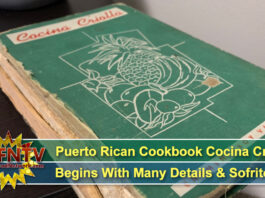 Legendary Puerto Rican Cookbook Cocina Criolla Begins With Many Details & Sofrito!