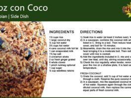 Arroz con Coco ~ Coconut Rice