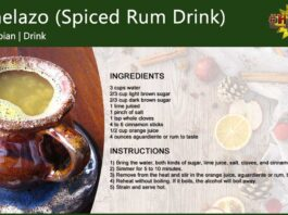 Canelazo (Spiced Cinnamon Rum Drink)