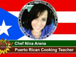 Chef Nina Arena ~ Puerto Rican Cooking Teacher