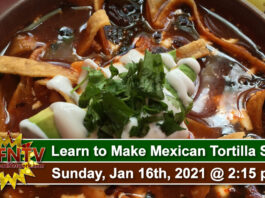 Learn to make Authentic Mexican Tortilla Soup