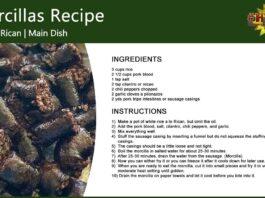 Puerto Rican Morcillas Recipe
