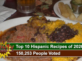 Top 10 Hispanic Recipes of 2020