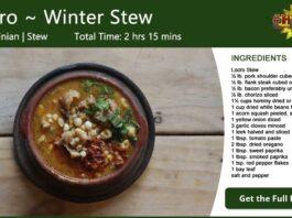 Locro ~ Argentina Winter Stew