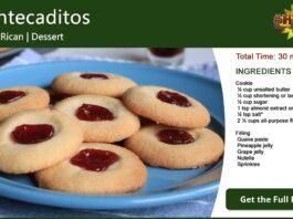 Mantecaditos ~ Puerto Rican Cookies