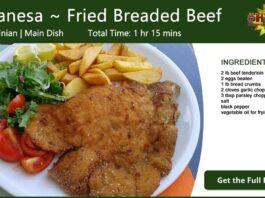 Milanesa ~ Fried Breaded Beef