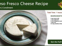 Queso Fresco Cheese Recipe