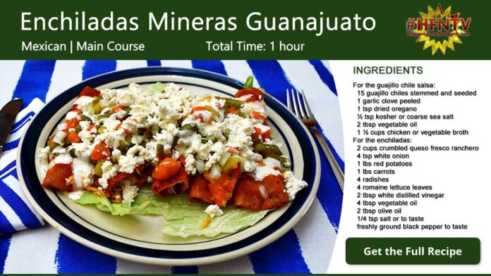 Enchiladas Mineras Guanajuato