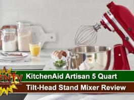 KitchenAid Artisan 5 Quart Tilt-Head Stand Mixer Review